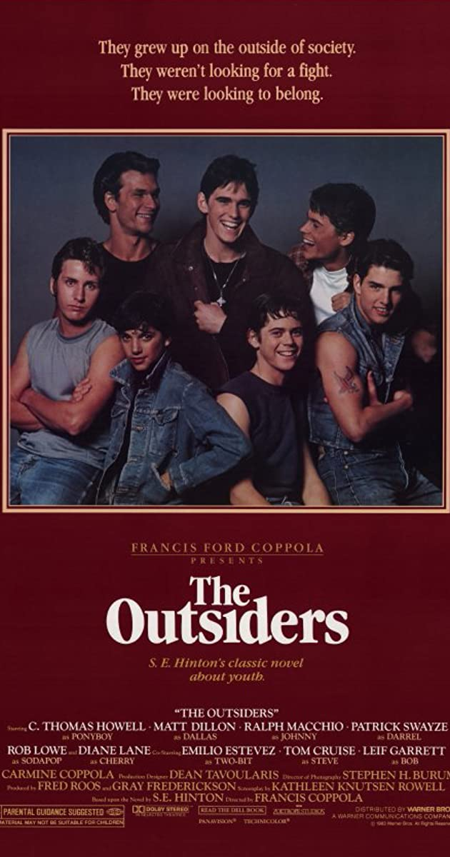 The Outsiders Book For