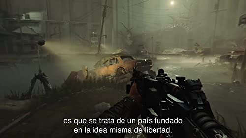 Wolfenstein II: The New Colossus: Talking Heads Story Trailer (Spanish Mexican Subtitled)