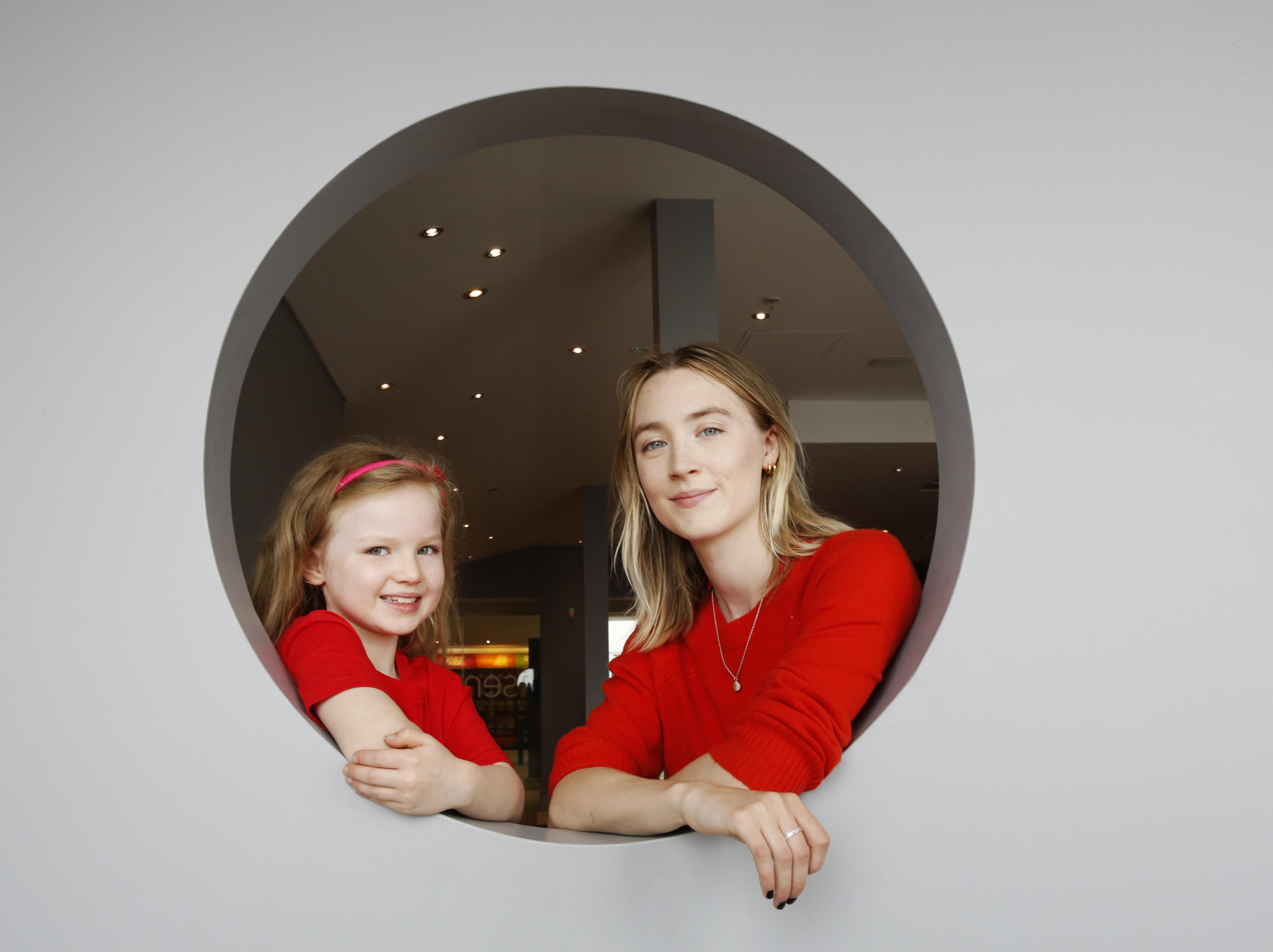 Molly McCann photoshoot with Saoirse Ronan