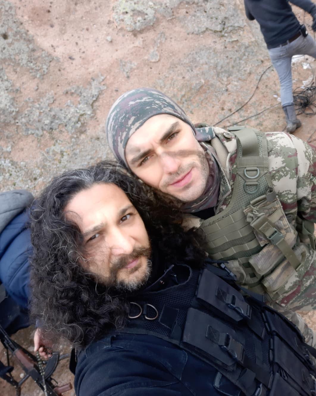Kayahan Kizilirmak and Dogan Bayraktar in Savasci (Warrior) (2017)