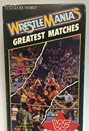 WWF: Wrestlemania's Greatest Matches Poster