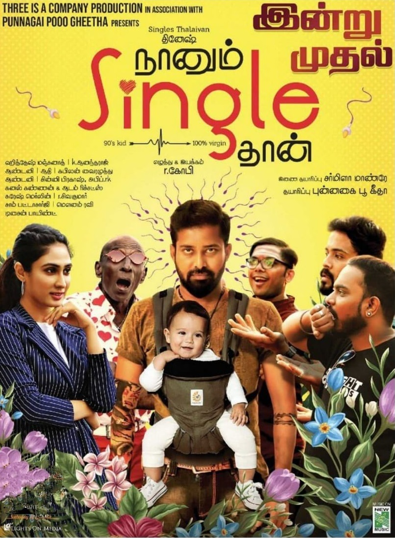 Naanum Single Thaan (2021) Full Tamil Movie 720p HDRip 650MB