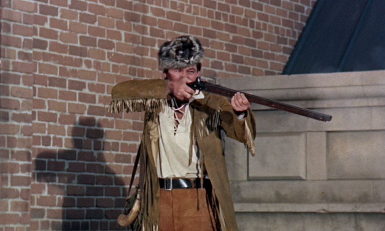 Fess Parker in Alias Jesse James (1959)