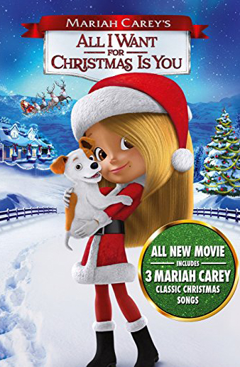 All I Want for Christmas Is You DVD Cover