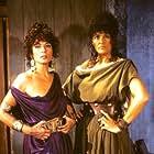 Francesca Romana Coluzzi and Marilù Tolo in The Last Days of Pompeii (1984)