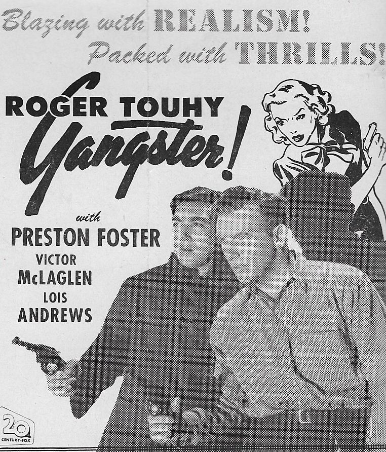Anthony Quinn and Preston Foster in Roger Touhy, Gangster (1944)