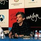 Fernando Merinero, Ramón Merlo, Roberto Govin, and Claudia Rojas at an event for La novia de Lázaro (2002)