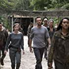 Nicole Barré, Sydney Park, Briana Venskus, Ross Marquand, and Katelyn Nacon in The Walking Dead (2010)