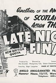 Late Night Final (1954)