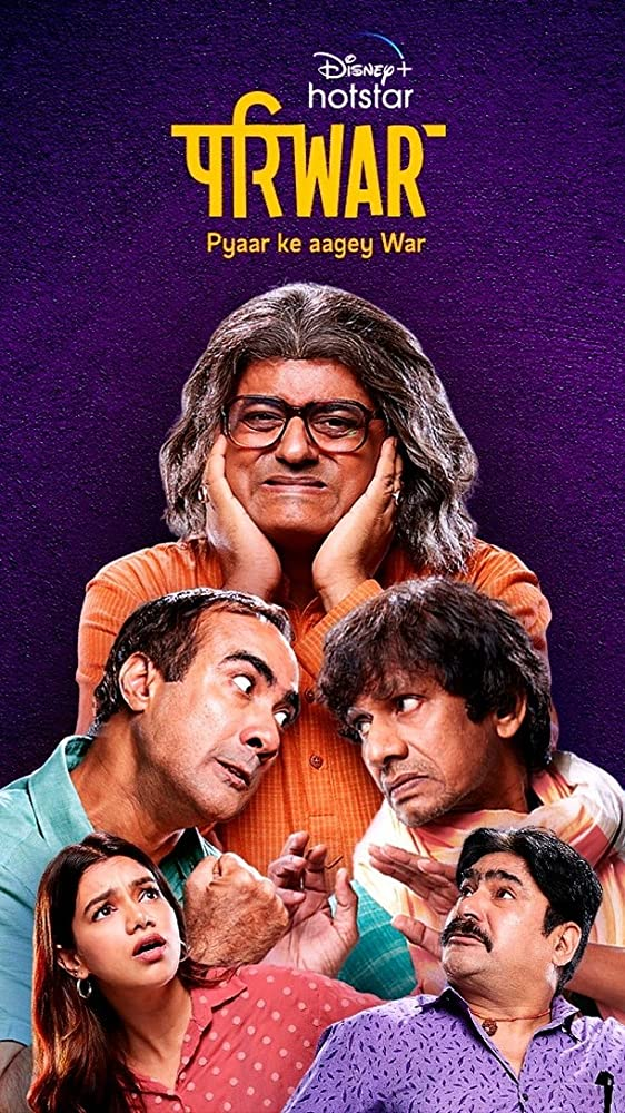 Pariwar S01 2020 Hindi Complete DSNP Web Series 480p HDRip 400MB x264 AAC