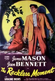 James Mason and Joan Bennett in The Reckless Moment (1949)