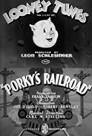 Porky's Railroad (1937) Poster - Movie Forum, Cast, Reviews