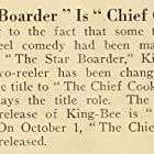 The Chief Cook (1917)