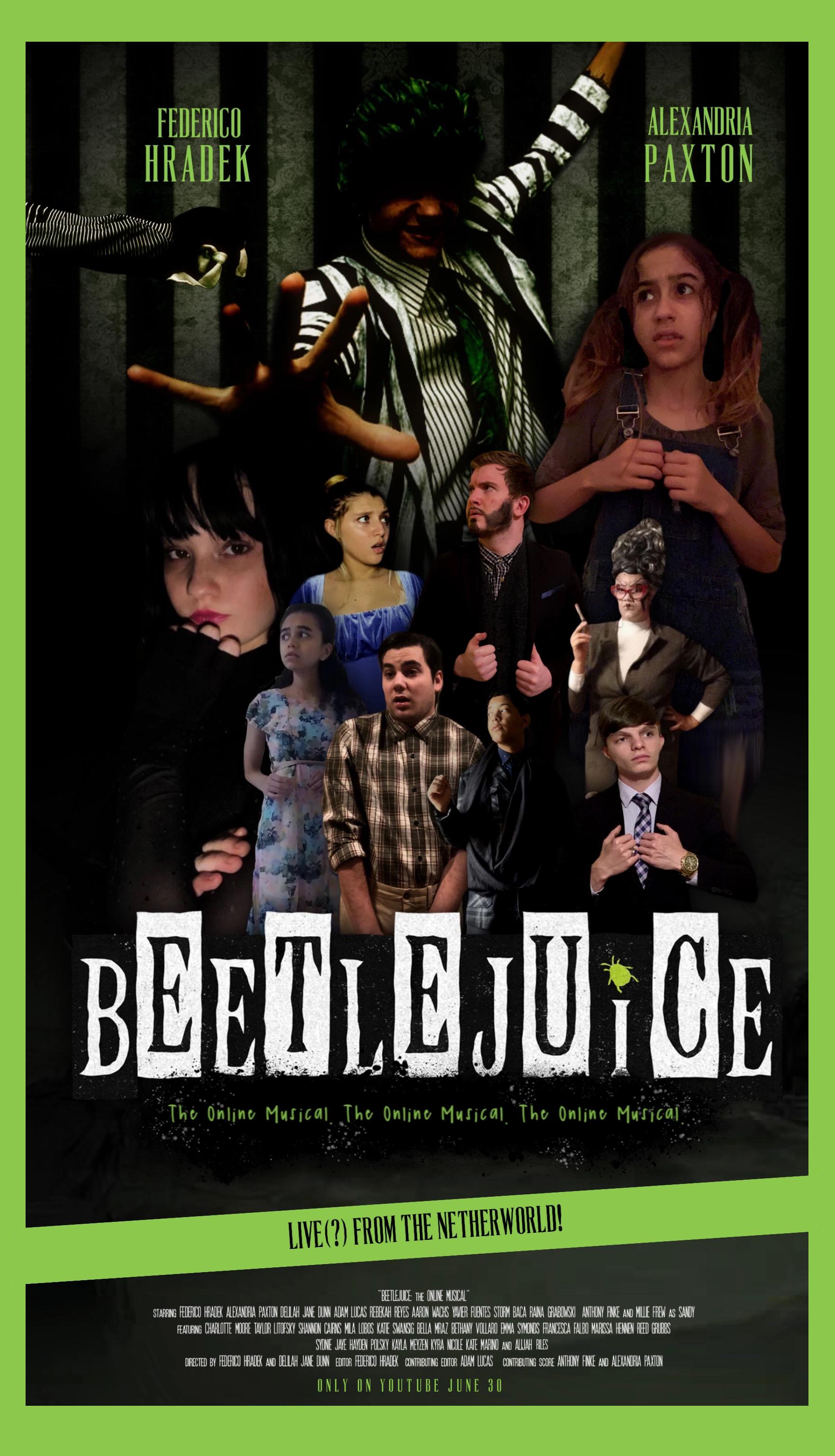 Beetlejuice The Online Musical Video 2020 Imdb