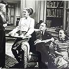 Petula Clark, Marjorie Fielding, Yvonne Owen, and Jack Warner in Easy Money (1948)