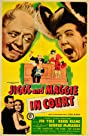 Jiggs and Maggie in Court (1948) Poster