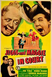 Jiggs and Maggie in Court Poster