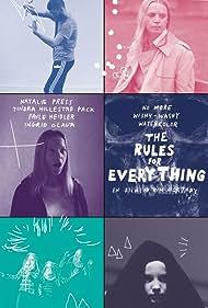 Natalie Press, Ingrid Olava, Tindra Hillestad Pack, and Pavle Heidler in The Rules for Everything (2017)