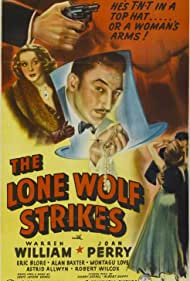 Joan Perry and Warren William in The Lone Wolf Strikes (1940)