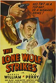 The Lone Wolf Strikes Poster