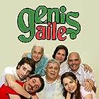 Halit Akçatepe, Rasim Öztekin, Bora Akkas, Ufuk Özkan, Mine Teber, and Bihter Dinçel in Genis Aile (2009)
