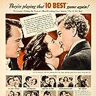 Katharine Hepburn, Paul Henreid, and Robert Walker in Song of Love (1947)