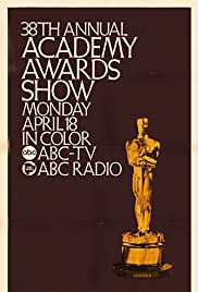 The 38th Annual Academy Awards Poster
