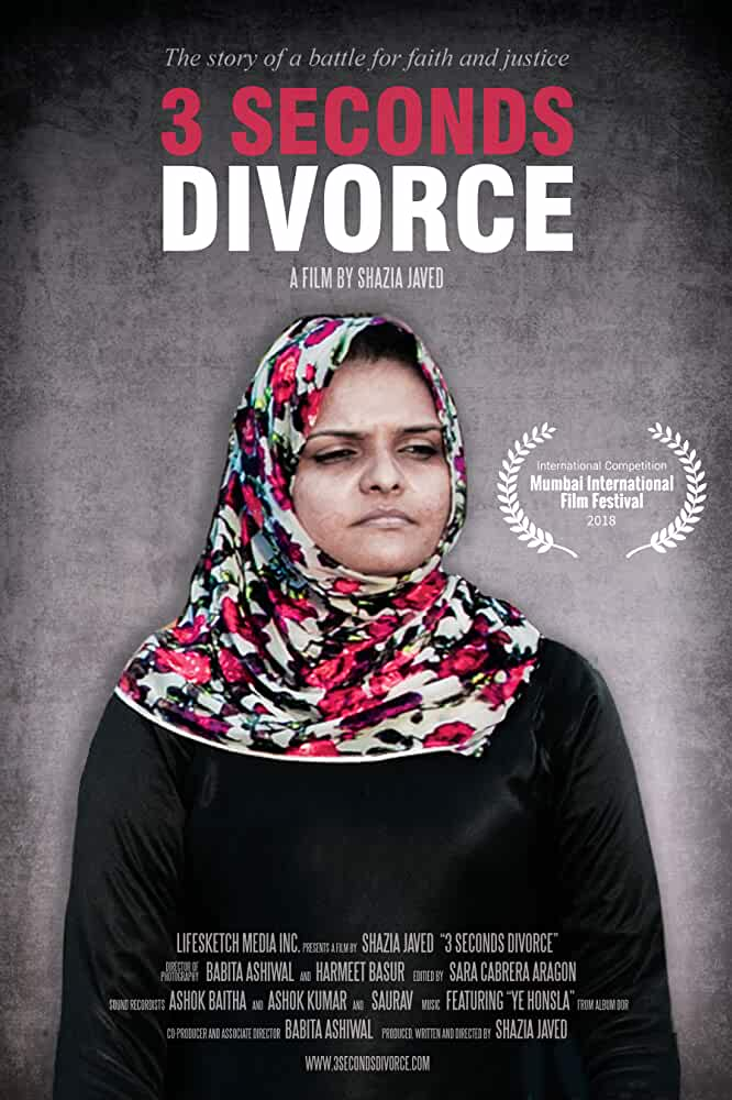 Download 3 Seconds Divorce (2018) Hindi 720p HEVC HDRip x265 AAC ESubs [200MB] Full Bollywood Movie