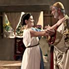 Robert Miano and Jen Lilley in The Book of Esther (2013)