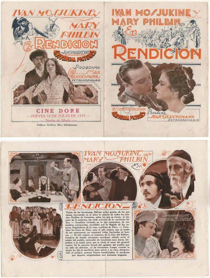 Nigel De Brulier, Otto Fries, Daniel Makarenko, Otto Matieson, Ivan Mozzhukhin, and Mary Philbin in Surrender (1927)