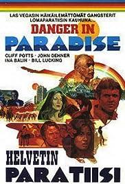 Danger in Paradise Poster