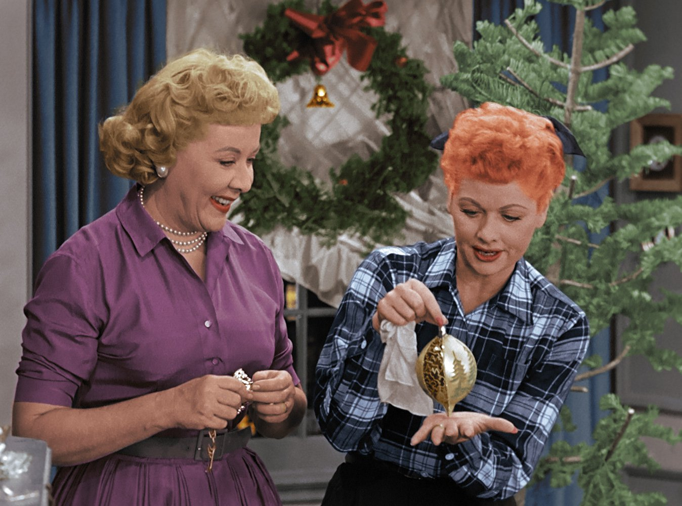 the i love lucy christmas show 1956 - I Love Lucy Christmas