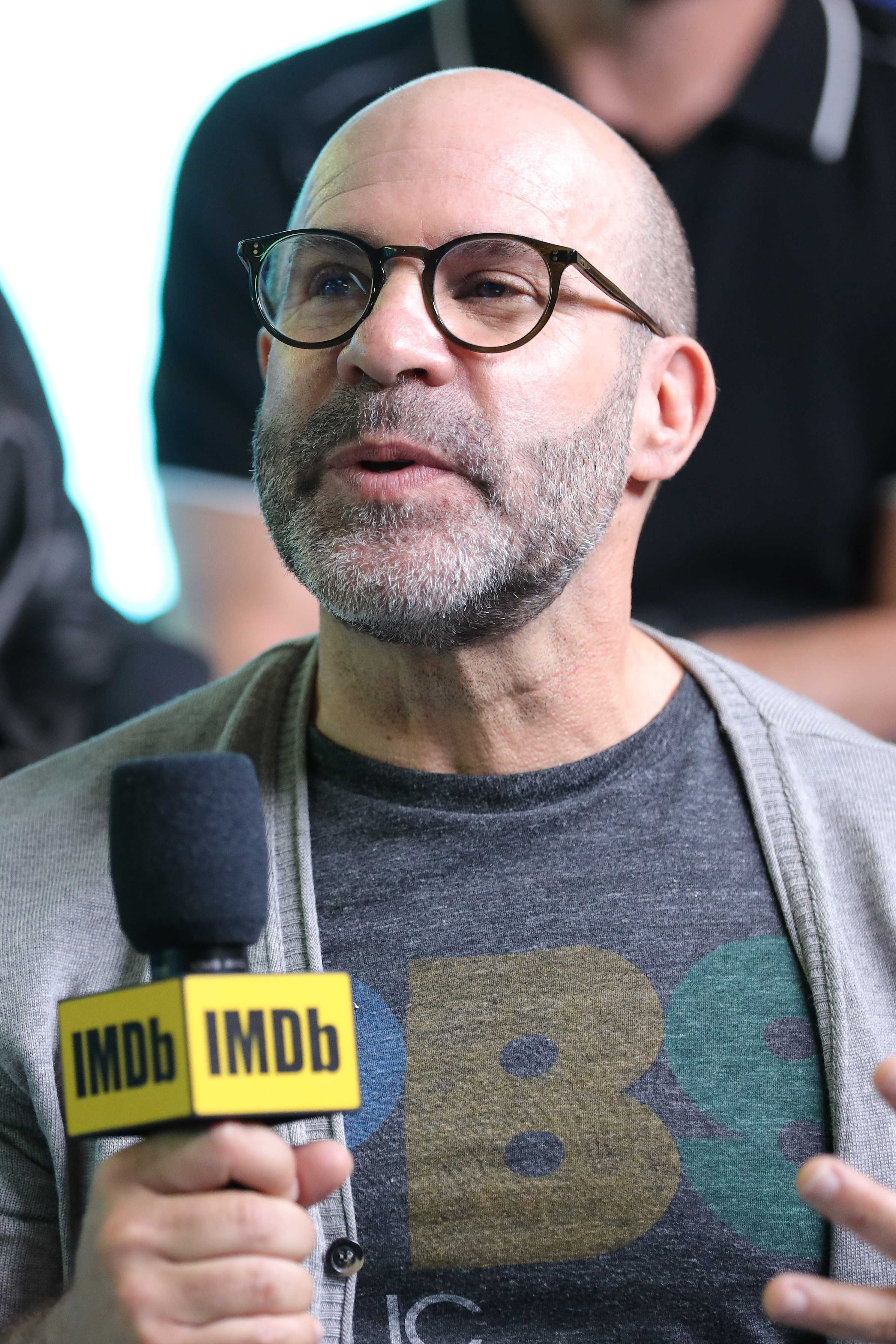 Scott Z. Burns at an event for The Report (2019)