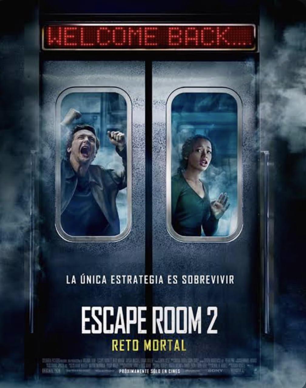 Escape Room: Tournament of Champions (2021) Hindi Dubbed