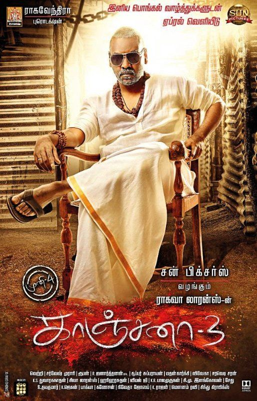 Kanchana 3 (2019) Telugu ORG HDRip x264 400MB Download