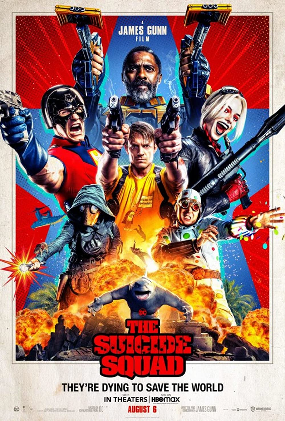 The Suicide Squad (2021) HDRip Hindi Movie Watch Online Free