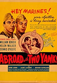 Abroad with Two Yanks Poster