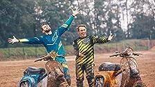 Scooters con esteroides! Racing Vespa Motorcross en Italia