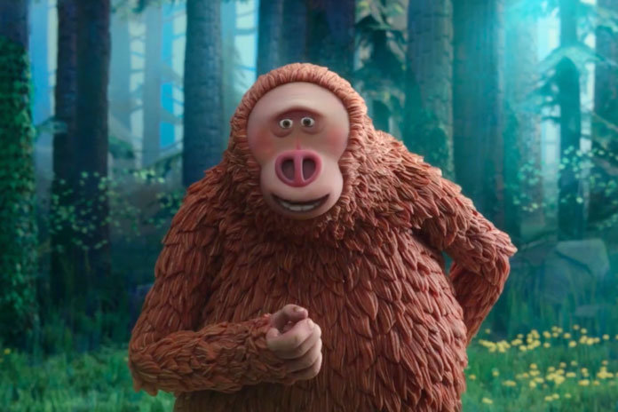 Zach Galifianakis in Missing Link (2019)