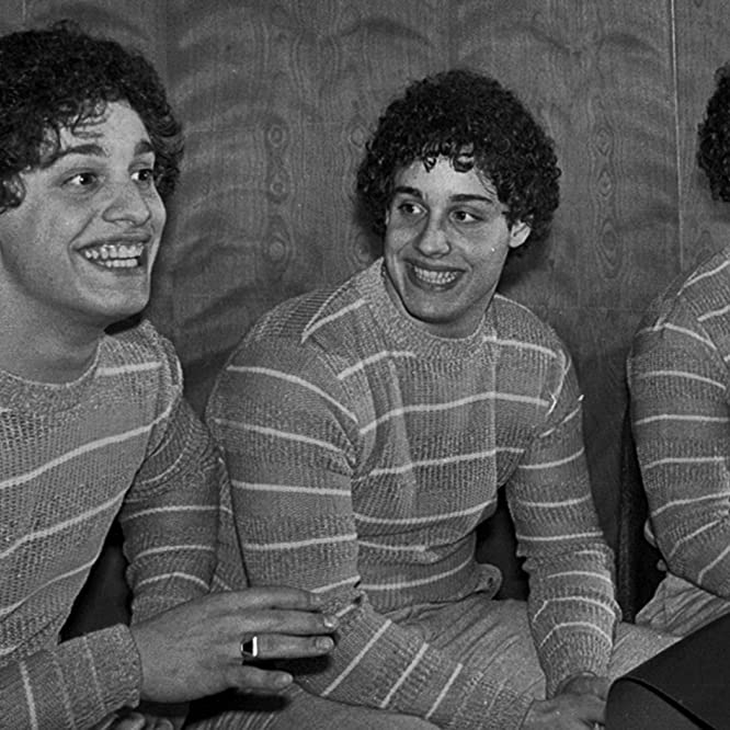 David Kellman, Robert Shafran, and Eddy Galland in Three Identical Strangers (2018)