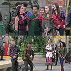 Lexi DiBenedetto, Amarr M. Wooten, Selwyn Huqueriza, Lilimar, Owen Joyner, Savannah Lee May, and Daniella Perkins in Knight Squad (2018)