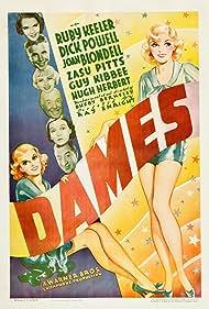 Joan Blondell, Hugh Herbert, Ruby Keeler, Guy Kibbee, Zasu Pitts, and Dick Powell in Dames (1934)