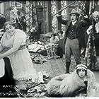 Charles Chaplin, Charles Bennett, Marie Dressler, and Mabel Normand in Tillie's Punctured Romance (1914)
