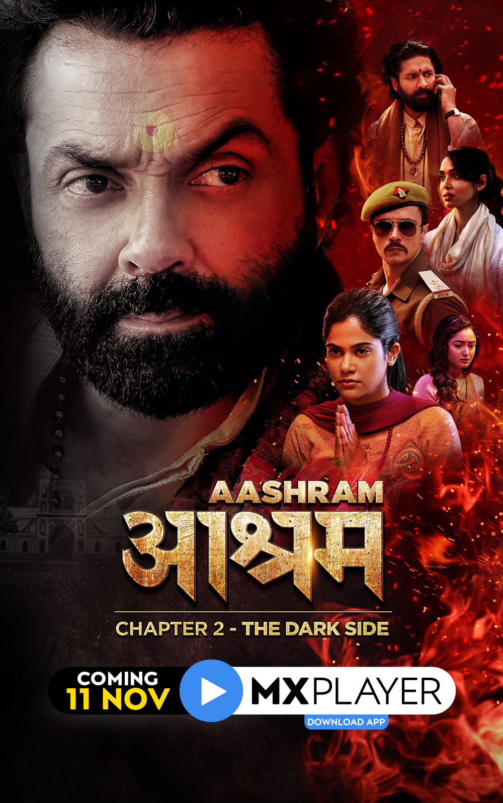 Aashram Chapter 2: The Dark Side 2020 S02 Hindi MX Player Original Complete Web Series 480p HDRip 1.4GB Download