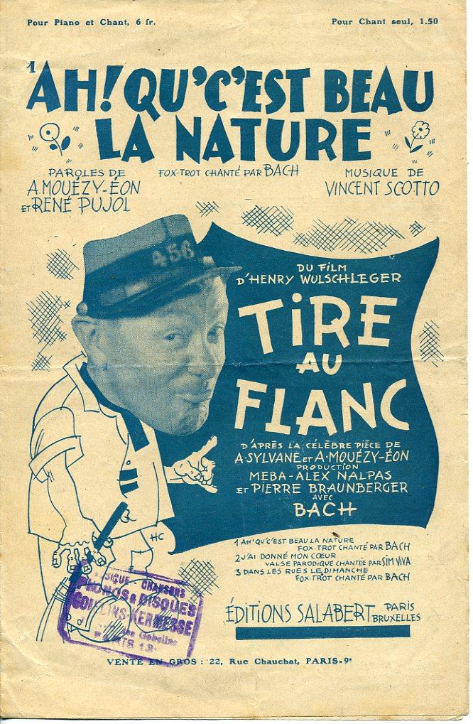 Bach in Tire au flanc (1933)