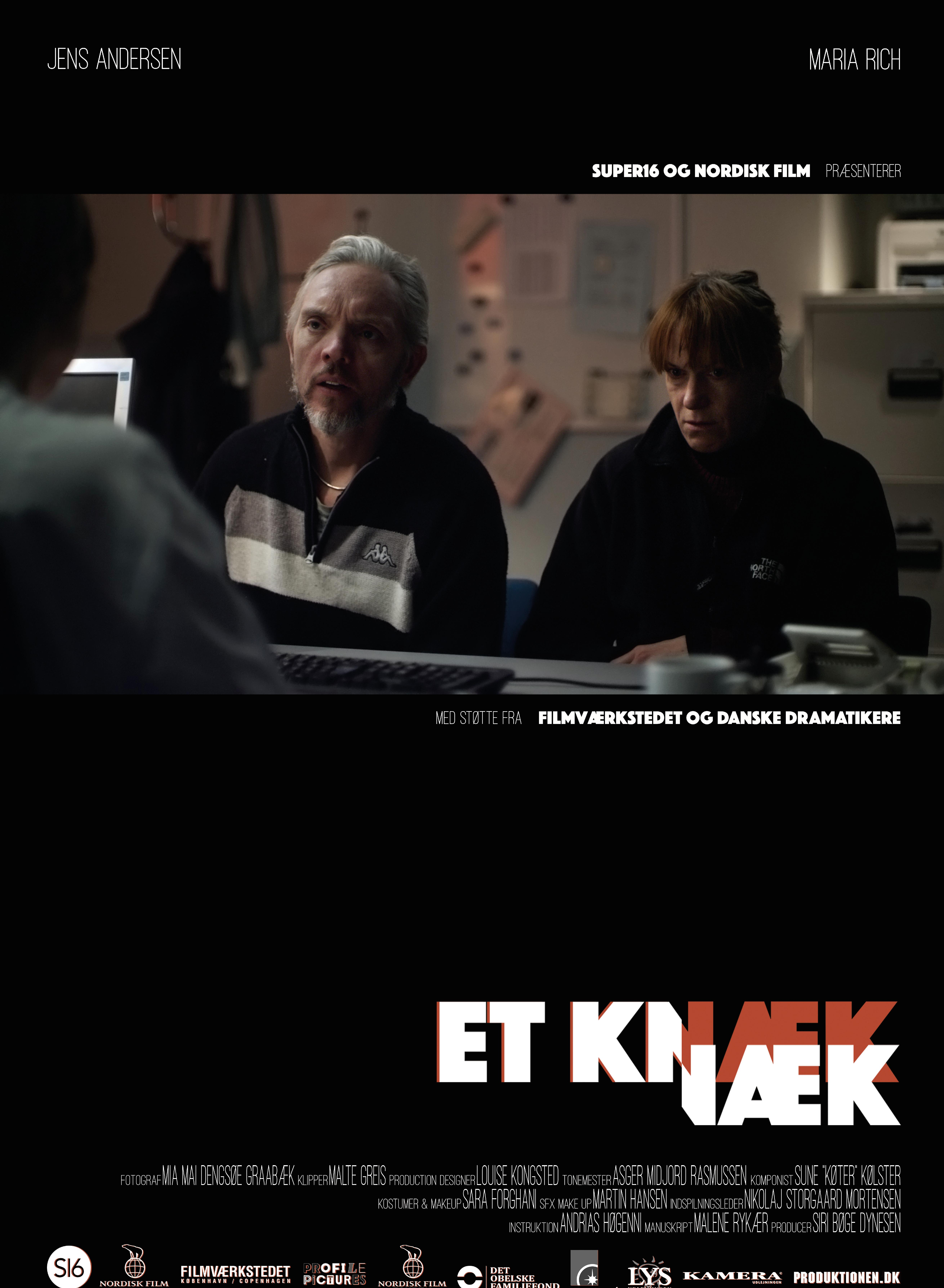 Tine Gotthelf, Jens Andersen, and Maria Rich in Et Knæk (2016)