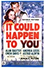 It Could Happen to You (1937) Poster