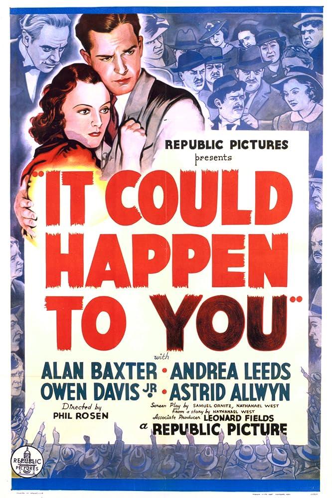 Astrid Allwyn, Alan Baxter, Owen Davis Jr., Andrea Leeds, Al Shean, and Frank Yaconelli in It Could Happen to You (1937)