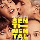 Javier Cámara, Alberto San Juan, Griselda Siciliani, and Belén Cuesta in Sentimental (2020)