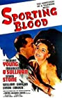 Sporting Blood (1940) Poster